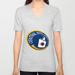 CIA Shield Unisex V-Neck