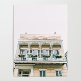 Vieux Carré New Orleans Poster