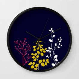 Bloom- plain Wall Clock