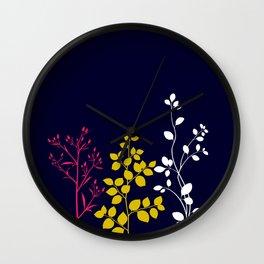 Bloom- plain Wall Clock