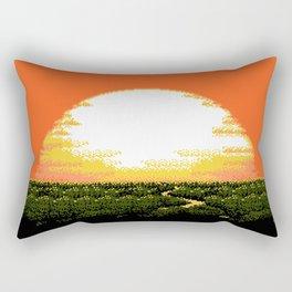 Heart Dusk Rectangular Pillow