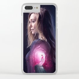 Scarlet Witch Clear iPhone Case