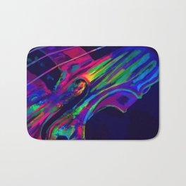 Neon Viola Pride Bath Mat