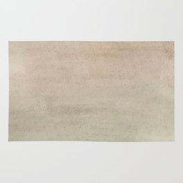 Ombre Grey Mist Watercolor Hand-Painted Effect Rug