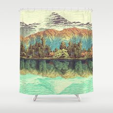 The Unknown Hills in Kamakura Shower Curtain