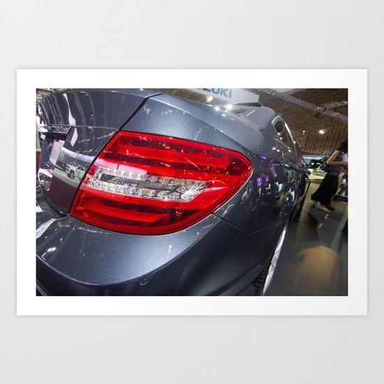 Mercedes-Benz C 180 Coupé Sport Art Print