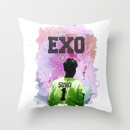 SuHo 1 Throw Pillow