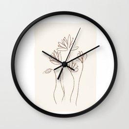Soft Line Design 05 Wall Clock