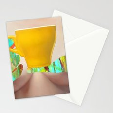 My Morning Coffee Stationery Cards
