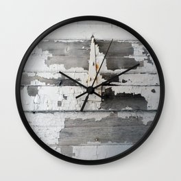 Hinge on Vintage Door Wall Clock