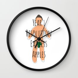 Year 1 Resolution Wall Clock