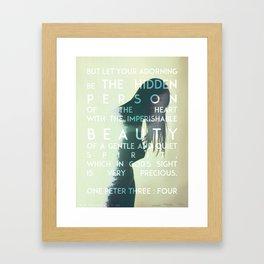 The Hidden Person Framed Art Print