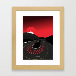 Fujimi Kaido Framed Art Print