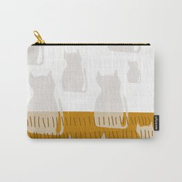 Coit Cat Pattern 4 Carry-All Pouch