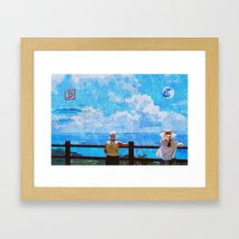 Ishigaki Island Coral Reefs Framed Art Print
