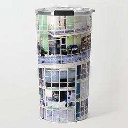Voyeuristic 0307 Vancouver Cityscape Luxury Symmetry Travel Mug