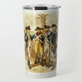 Infantry: Continental Army 1779-1783 by H.A. Ogden (1879) Travel Mug