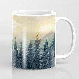 Forest Under the Sunset II Coffee Mug