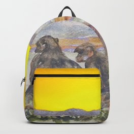 African Sun Family Backpack
