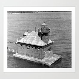 Sturgeon Bay Canal North Pierhead Lighthouse Art Print