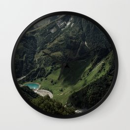 Picture Postcard Perfect Wall Clock