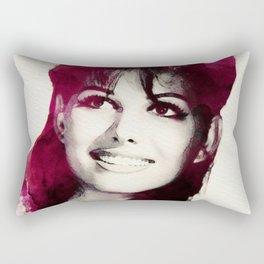 Claudia Cardinale Rectangular Pillow