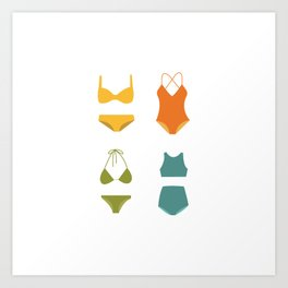 Here's to Summer! Art Print