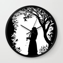 The Tale of the Juniper Tree Wall Clock
