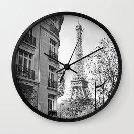 Paris No1 Wall Clock