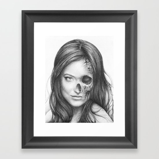 Thirteen from House MD Framed Art Print