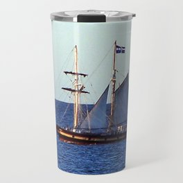 Quebec Sailboat Travel Mug