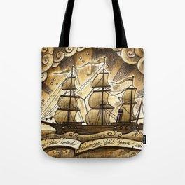 Sailing Winds Tote Bag