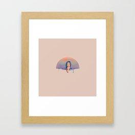 OVERFLOWING SINK Framed Art Print