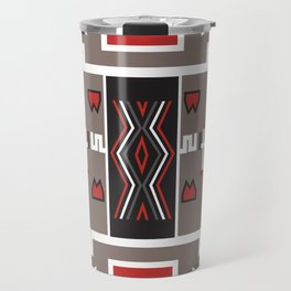 American Native Pattern No. 161 Travel Mug