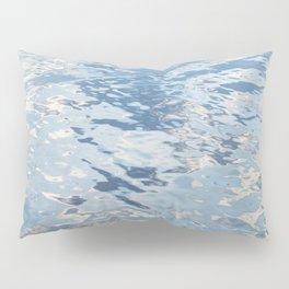 Blue Tones On The Lake Surface #decor #society6 #buyart Pillow Sham