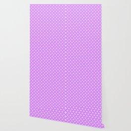 Trellis_Purple Wallpaper
