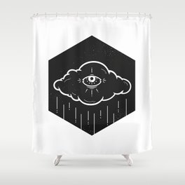 Eye Drops Shower Curtain