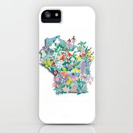 Wisconsin Wildflowers iPhone Case