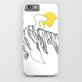 Golden Rocky Ridge iPhone Case