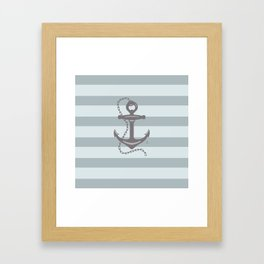 AFE Nautical Anchor 2019 -4 Framed Art Print