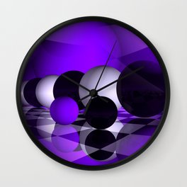 3D - abstraction -121- Wall Clock