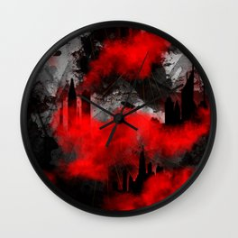 maad city 2 Wall Clock
