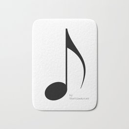TheVibeArts music is life Bath Mat