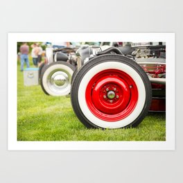 Hot Wheels Art Print