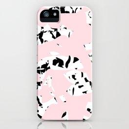 pattern no. 5 / milk & chocolate & strawberry iPhone Case