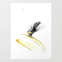 FANTAIL/ THE POSER Art Print
