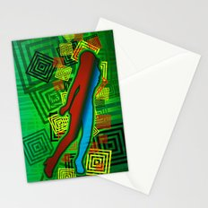 Raimbow Lady Stationery Cards