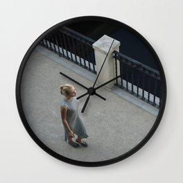 Footwork Wall Clock
