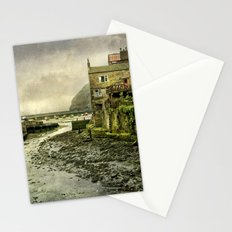 The Beck at Staithes Stationery Cards