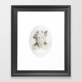 Staue of Spring Framed Art Print